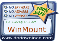 WinMount is safe to download